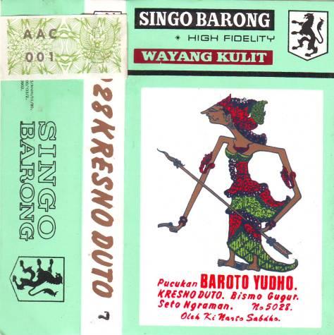 Ki Nartosabdho - Singo Barong - Kresno Duto