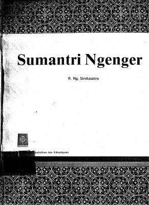 Sumantri Ngenger - Cover Depan