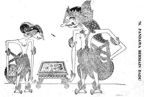 Pandawa main dadu