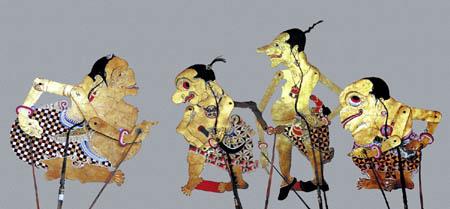 Punakawan is a Family of Characters in Javanese Wayang