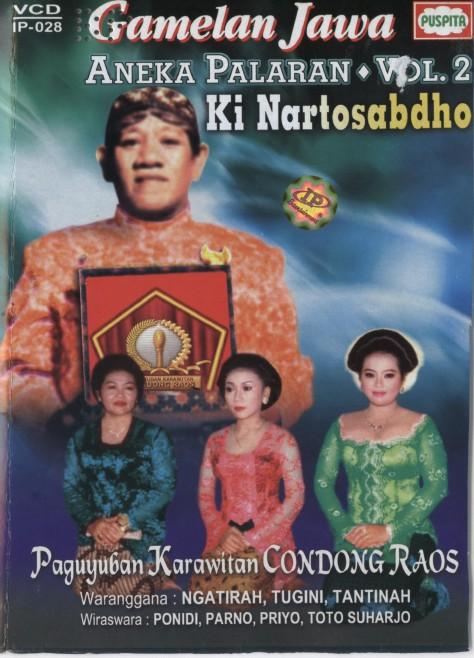 Nartosabdho-Aneka Palaran Vol 2 Cover