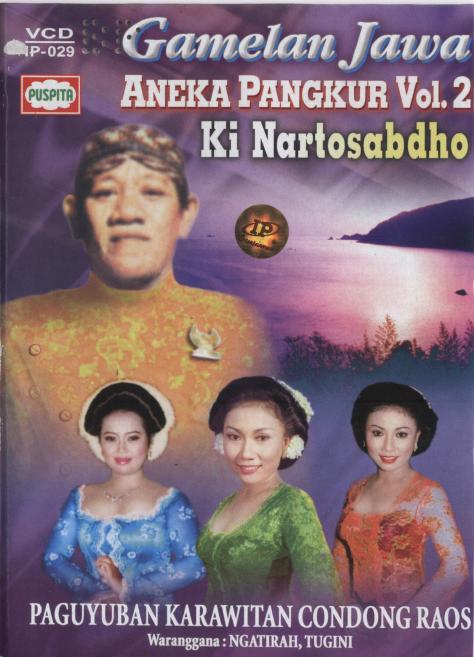 Nartosabdho-Aneka Pangkur Vol 2 Cover