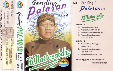 KNS Gending2 Palaran Vol. 2 all
