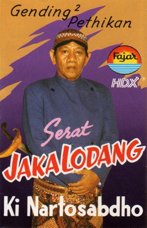 KNS Serat Jaka Lodhang Cover