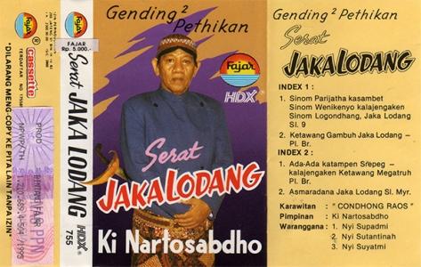 KNS Serat Jaka Lodhang Full