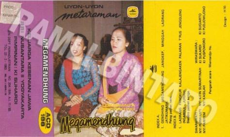 ACD188 Uyon-uyon Mataraman - Megamendhung