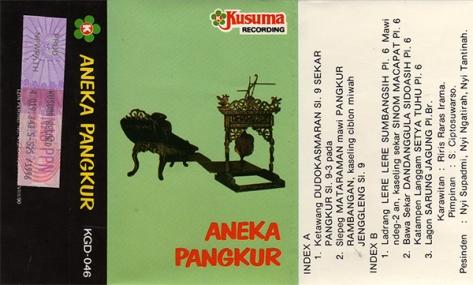S. Ciptosuwarso Aneka Pangkur Full