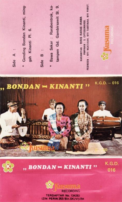 S. Ciptosuwarso Bondan Kinanti Full