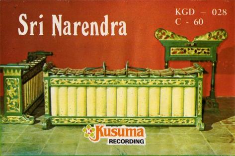 S. Ciptosuwarso Sri Narendra Cover