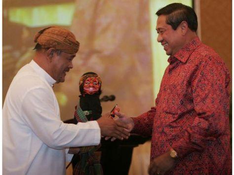Asep Sunandar Sunarya dan SBY2