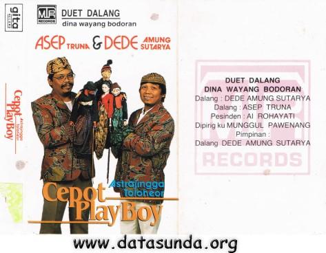 Dede Amung Sutarya + Asep Truna - Cepot Playboy
