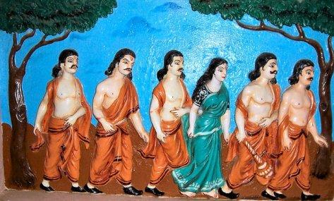 Drupadi n Pandawa