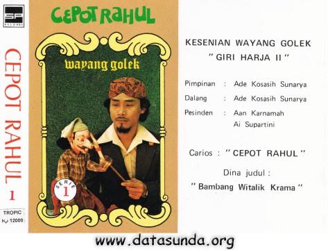 Giri Harja 2 - Cepot Rahul - Bambang Witalik Krama