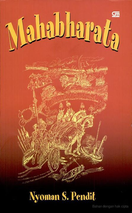 Mahabharata Cover Nyoman S Pendit