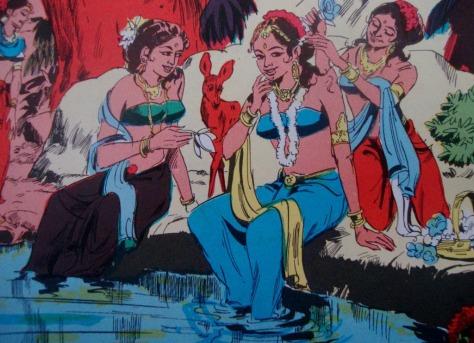 devayani-dan-sharmistha-di-kolam-sumber-ajitvadakayil-blogspot-com