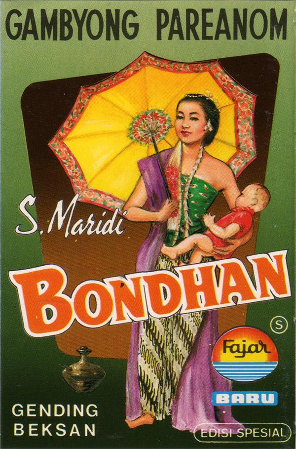 S. Maridi – Bondhan Gambyong Pareanom