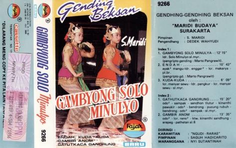S Maridi Gambyong Solo Minulya All