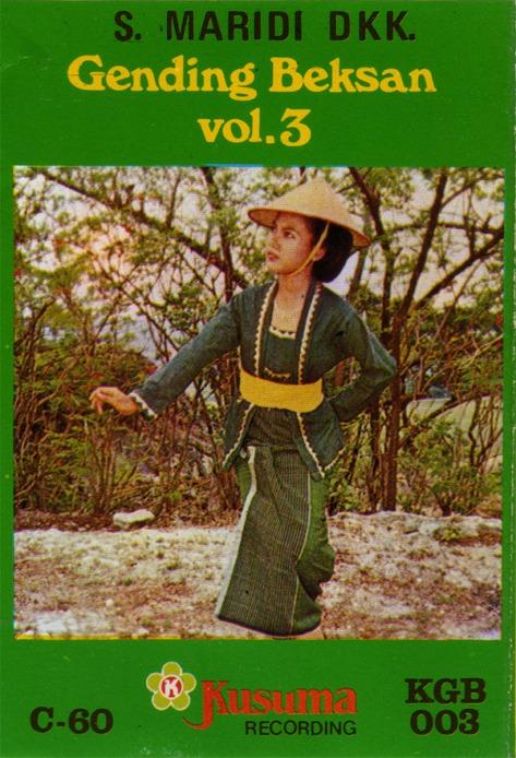 S Maridi Gending Beksan Vol 3 Depan