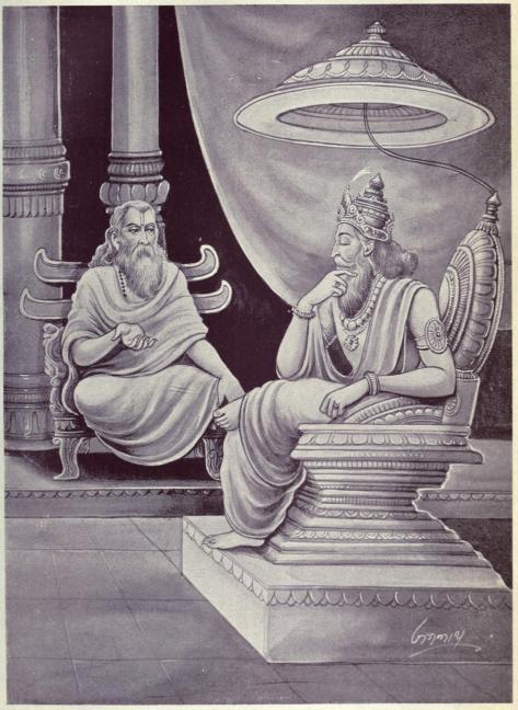Vidura_and_Dhritarashtra sumber wikimedia.org