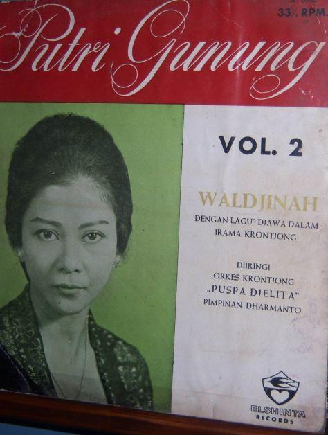 Waldjinah - Putri Gunung Vol 2