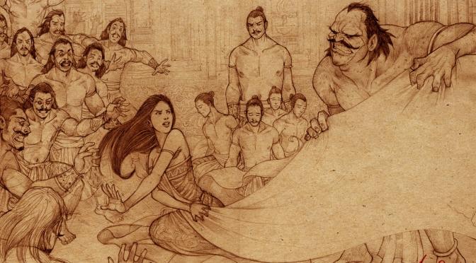 Mahabharata 22 : Semua Dipertaruhkan dalam Permainan Dadu