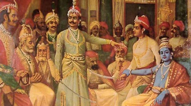 Mahabharata 20 : Krishna Menerima Penghormatan Tertinggi