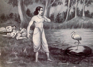 Yudhistira_and_Yaksha