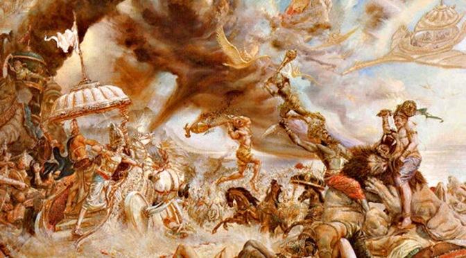 Mahabharat 40 – Saat-Saat Sebelum Perang